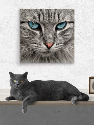 40cm Square Wooden Wall Art