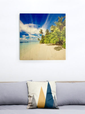 60cm Square Wooden Wall Art