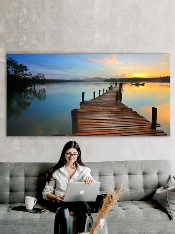 Extra Large Birch Wall Art