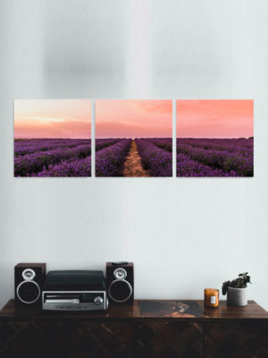 Tiled Square Wooden Wall Art